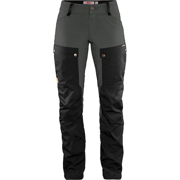 フェールラーベン レディース ハイキング スポーツ Fjallraven Women's Keb Trouser Black-Stone Grey