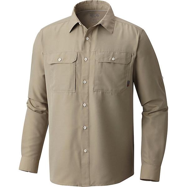 マウンテンハードウェア メンズ ハイキング スポーツ Mountain Hardwear Men's Canyon LS Shirt Badlands