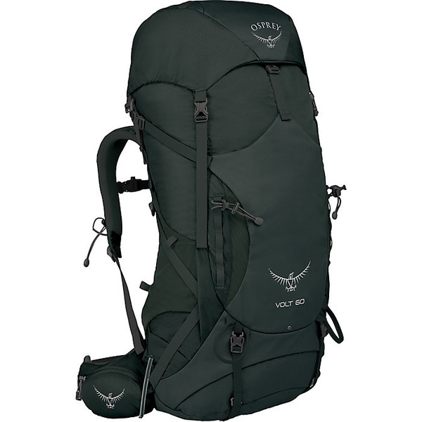 オスプレー メンズ バックパック・リュックサック バッグ Osprey Volt 60 Backpack Conifer Green