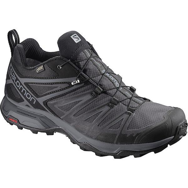 サロモン メンズ ハイキング スポーツ Salomon Men's X Ultra 3 GTX Shoe Black / Magnet / Quiet Shade