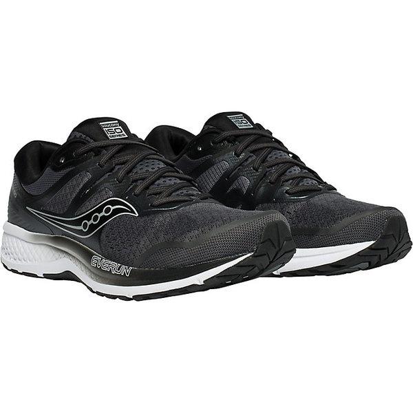 サッカニー メンズ ランニング スポーツ Saucony Men's Omni ISO 2 Shoe Grey / Black