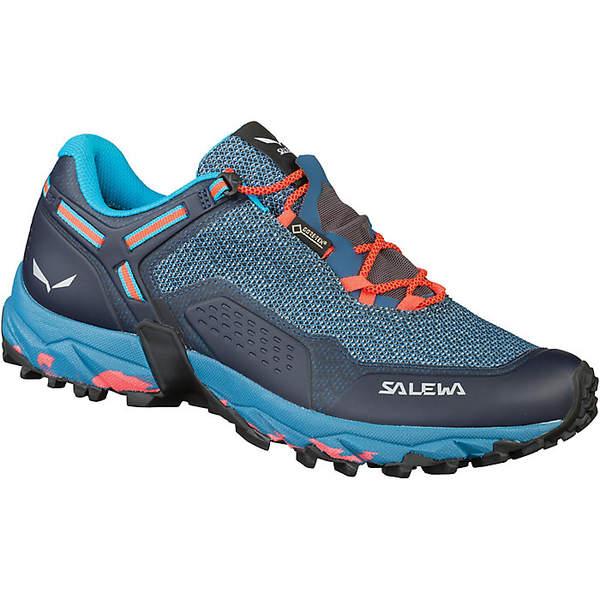 サレワ レディース ランニング スポーツ Salewa Women's Speed Beat GTX Shoe Patriot Blue/Fluo Coral