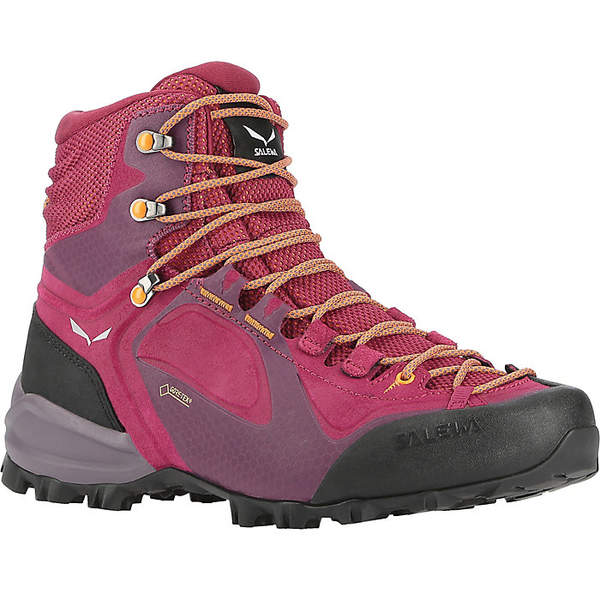 サレワ レディース ハイキング スポーツ Salewa Women's Alpenviolet Mid GTX Boot Red Plum / Orange Popsicle