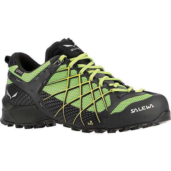 サレワ メンズ ハイキング スポーツ Salewa Men's Wildfire GTX Shoe Black Out / Fluo Yellow