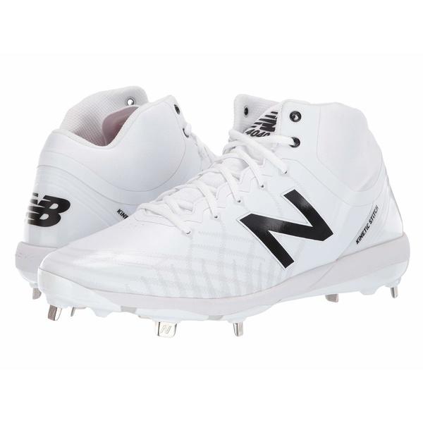 ニューバランス メンズ スニーカー シューズ 4040v5 Mid-Cut Metal White/White