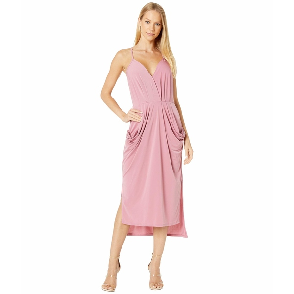 BCBジェネレーション レディース ワンピース トップス Drapey Pocket Midi Dress - YDM6169244 Heather Rose