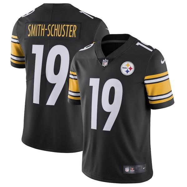 ナイキ メンズ シャツ トップス JuJu Smith-Schuster Pittsburgh Steelers Nike Team Color Vapor Untouchable Limited Jersey Black