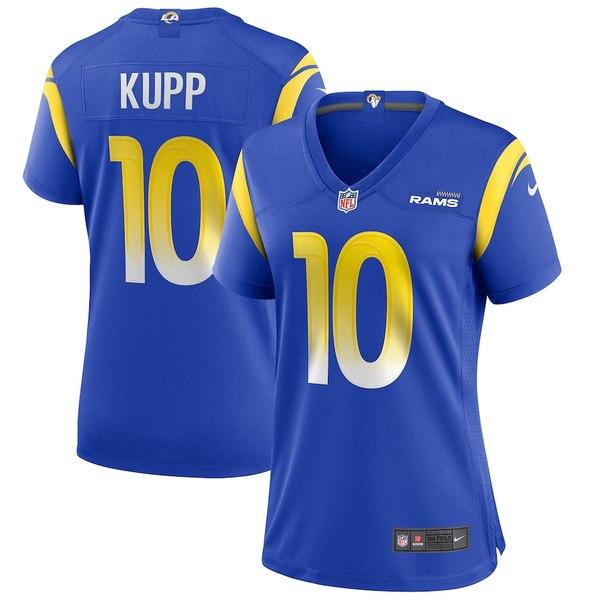 ナイキ レディース シャツ トップス Cooper Kupp Los Angeles Rams Nike Women's Game Jersey Royal