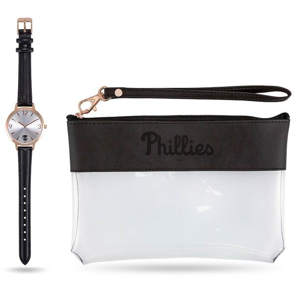 スパロ レディース バックパック・リュックサック バッグ Philadelphia Phillies Sparo Women's Watch & Wallet Gift Set Unknown