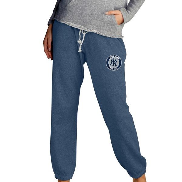 コンセプトスポーツ レディース カジュアルパンツ ボトムス New York Yankees Concepts Sport Women's Mainstream Knit Pants Navy