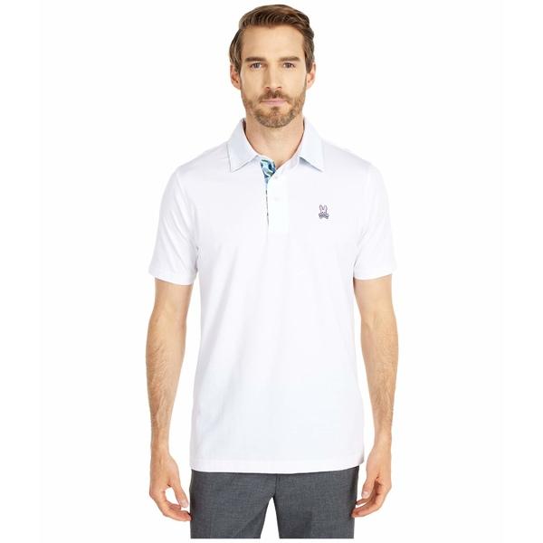 サイコバニー メンズ シャツ トップス Rowcross Polo White
