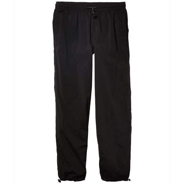 ベルサーチ メンズ カジュアルパンツ ボトムス Gabardine Logo Patch Jogger Black