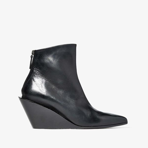 マルセル レディース ブーツ&レインブーツ シューズ Architectural Wedge Boot Black