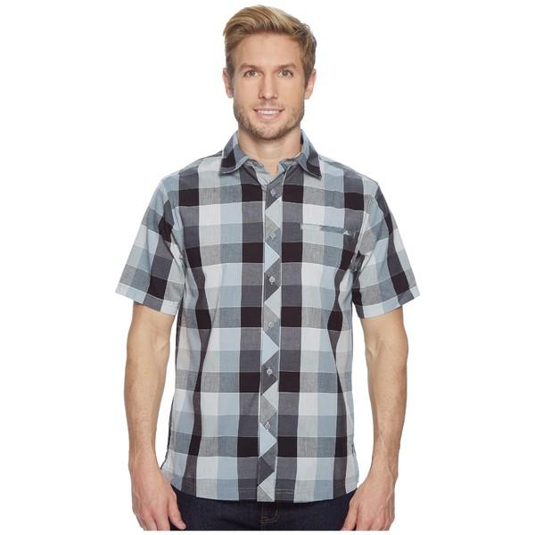 スマートウール メンズ シャツ トップス Everyday Exploration Retro Plaid Short Sleeve Shirt Light Gray