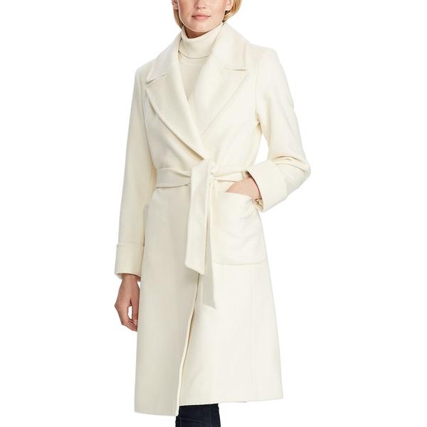 納得できる割引 ラルフローレン レディース コート アウター Wool-Blend Wrap Coat Moda Cream, 個性派フォトアルバム「GADO工房」 19b1e6d6