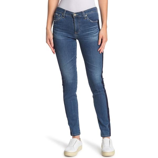 Prima デニムパンツ レディース NILE YEARS Panel ボトムス BLUE Jeans Side 14 エージー