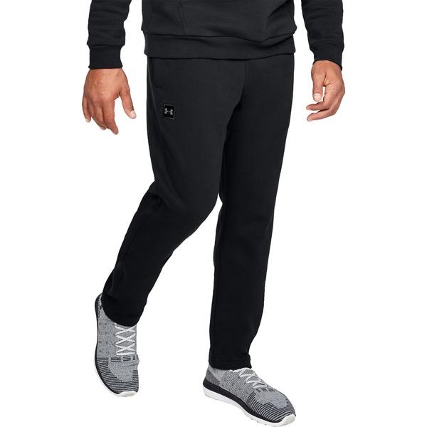 アンダーアーマー メンズ カジュアルパンツ ボトムス Under Armour Men's Rival Fleece Pants (Regular and Big & Tall) Black/Black