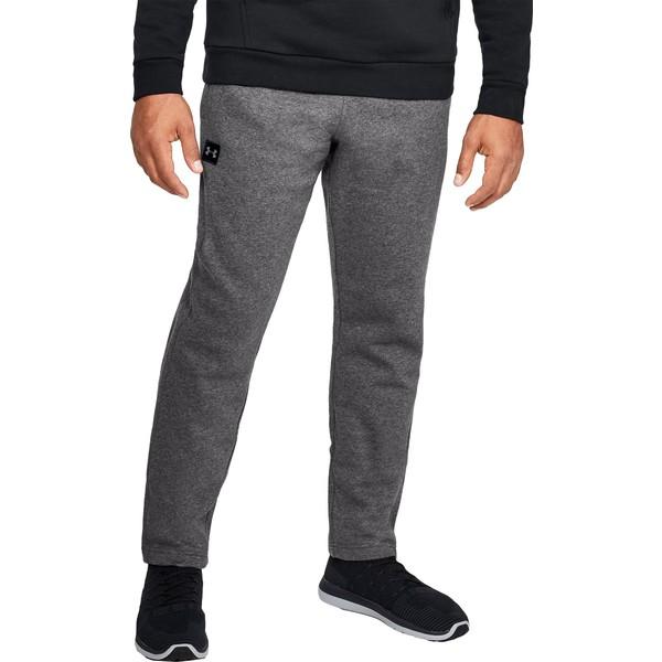 アンダーアーマー メンズ カジュアルパンツ ボトムス Under Armour Men's Rival Fleece Pants (Regular and Big & Tall) Charcoal/Black