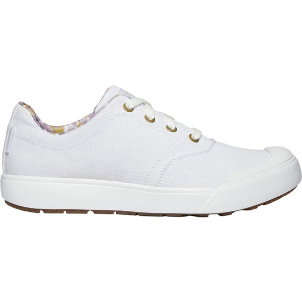 キーン レディース スニーカー シューズ KEEN Women's Elena Oxford Shoes White/White