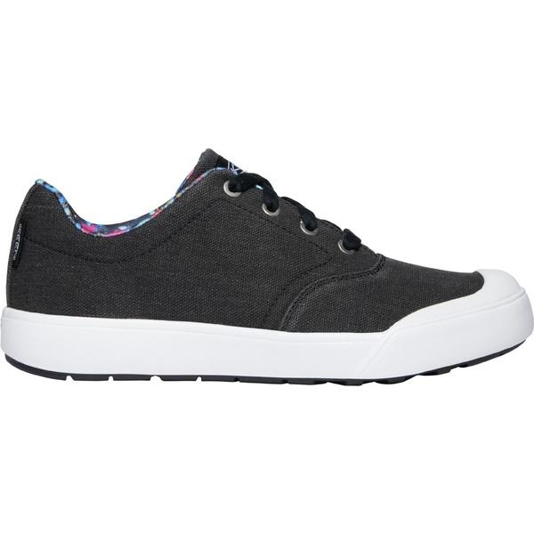 キーン レディース スニーカー シューズ KEEN Women's Elena Oxford Shoes Black/White