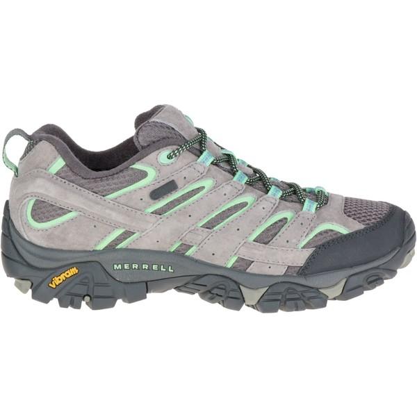 メレル レディース ブーツ&レインブーツ シューズ Merrell Women's Moab 2 Waterproof Hiking Shoes Drizzle/Mint
