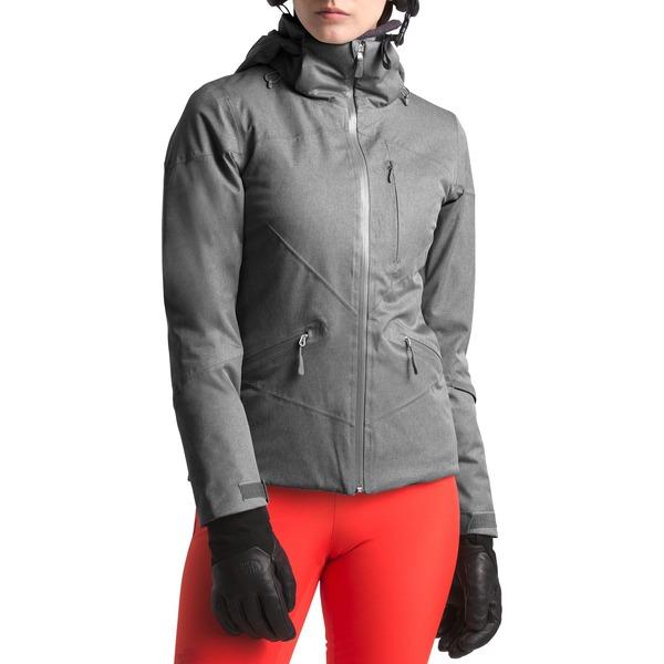 ノースフェイス レディース ジャケット&ブルゾン アウター The North Face Women's Lenado Snow Jacket MidGreyHeather
