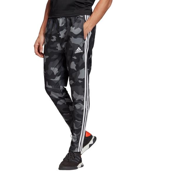 アディダス メンズ カジュアルパンツ ボトムス adidas Men's Tiro 19 Camo Training Pants Black/White