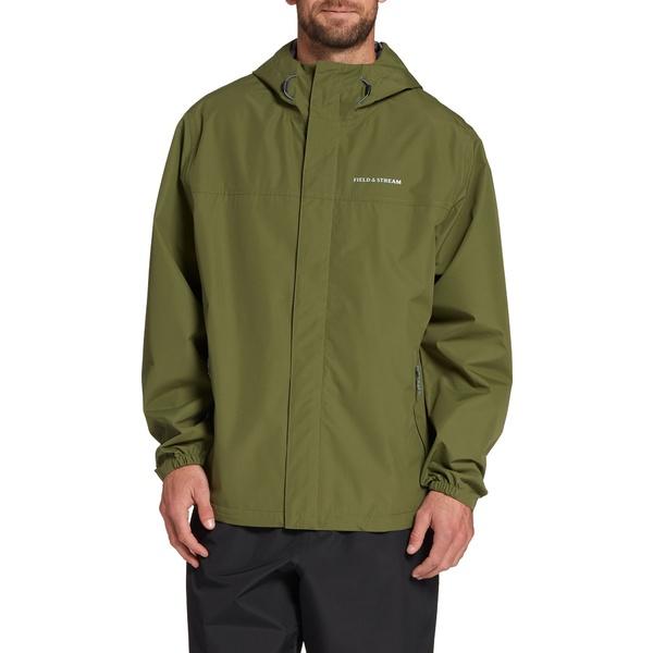 フィールドアンドストリーム メンズ ジャケット&ブルゾン アウター Field & Stream Men's Packable Rain Jacket CypressGreen