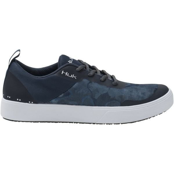 フック メンズ スニーカー シューズ HUK Men's Mahi Lace Up Casual Shoes Pei