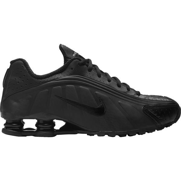 ナイキ メンズ スニーカー シューズ Nike Men's Shox R4 Shoes Black/Black