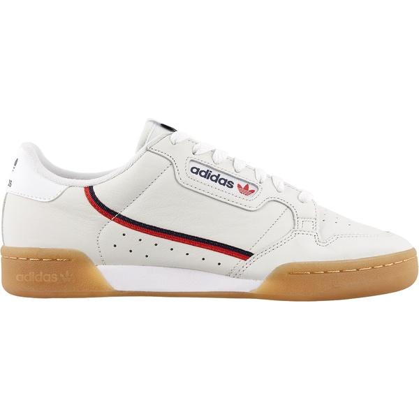 アディダス メンズ スニーカー シューズ adidas Men's Continental 80 Shoes White/Tan