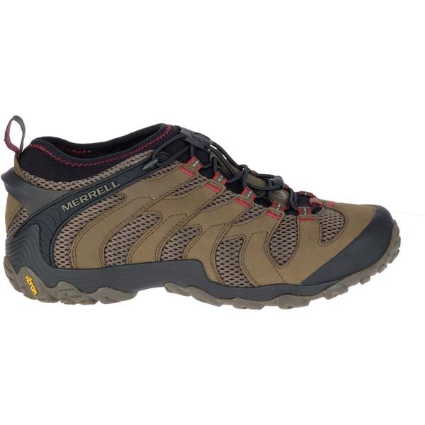 メレル メンズ ブーツ&レインブーツ シューズ Merrell Men's Chameleon 7 Stretch Hiking Shoes Boulder