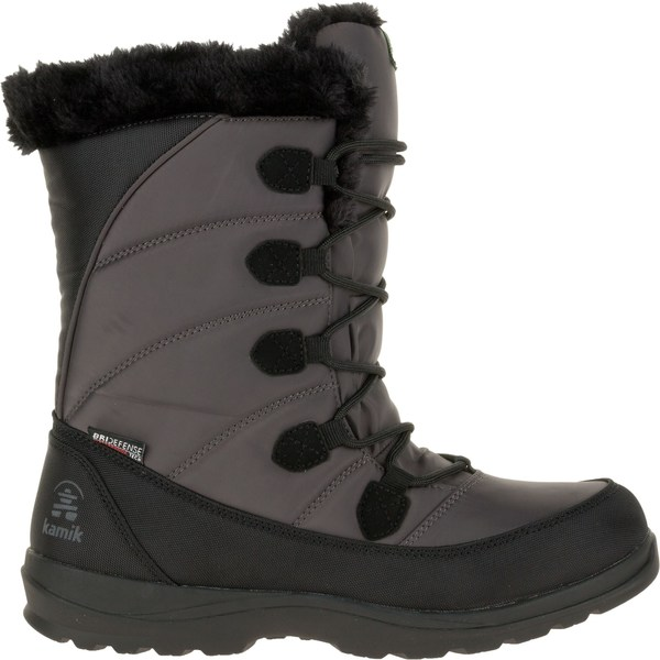 カミック レディース ブーツ&レインブーツ シューズ Kamik Women's Icelyn Suede Insulated Waterproof Winter Boots DarkBrown