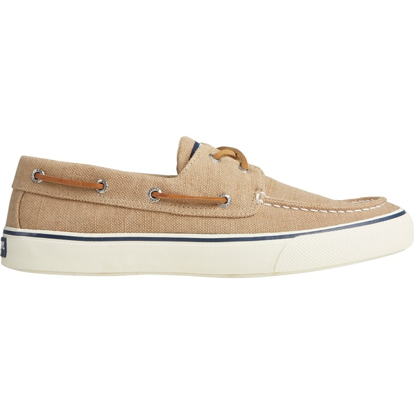 トップサイダー メンズ スニーカー シューズ Sperry Men's Bahama II Distressed Boat Casual Shoes Khaki