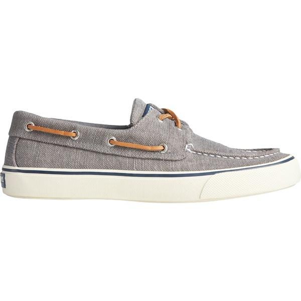 トップサイダー メンズ スニーカー シューズ Sperry Men's Bahama II Distressed Boat Casual Shoes DarkGrey
