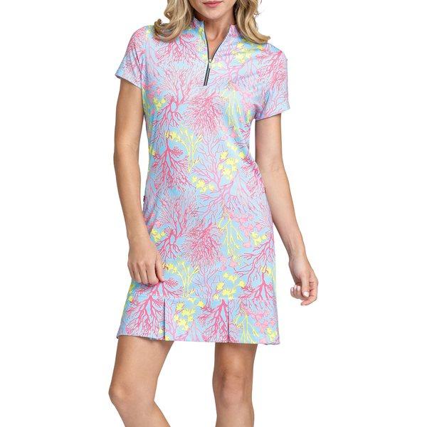 テイル レディース シャツ トップス Tail Women's Olivia Golf Dress Fantasea