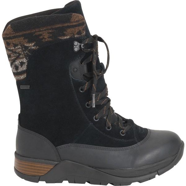 ムックブーツ レディース ブーツ&レインブーツ シューズ Muck Boots Women's Arctic Apres II Lace Waterproof Winter Boots Black