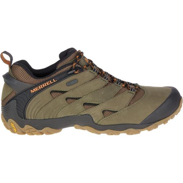 メレル メンズ ブーツ&レインブーツ シューズ Merrell Men's Chameleon 7 Waterproof Hiking Shoes DustyOlive