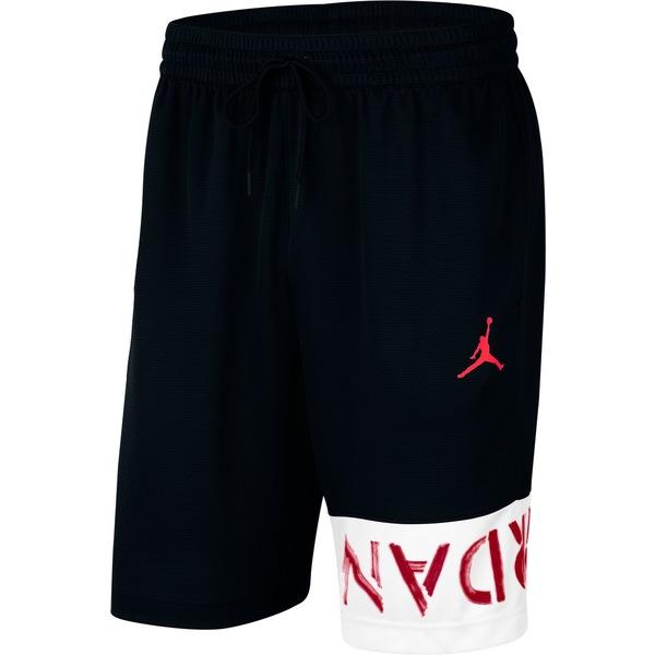 """ジョーダン メンズ カジュアルパンツ ボトムス Jordan Men's Jumpman Air 10"""" Basketball Shorts Black"""