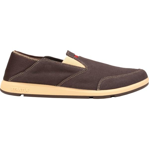 エクストラタフ メンズ スニーカー シューズ XTRATUF Men's YellowTail Slip-On Casual Shoes Brown