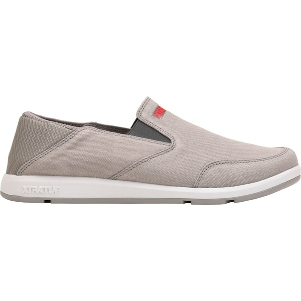 エクストラタフ メンズ スニーカー シューズ XTRATUF Men's YellowTail Slip-On Casual Shoes Gray