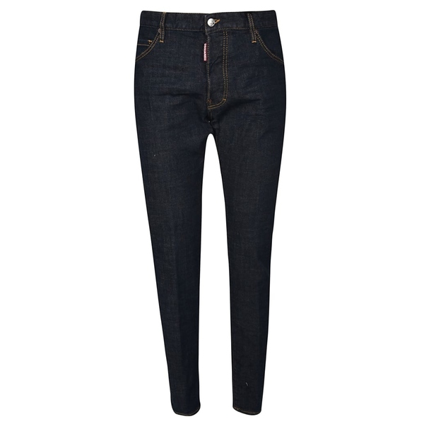 ディースクエアード メンズ デニムパンツ ボトムス Dsquared2 Skinny Jeans Black