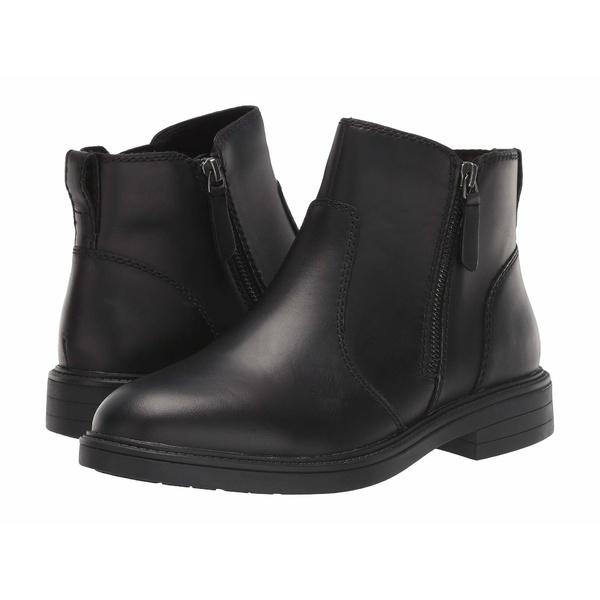 クーガー レディース ブーツ&レインブーツ シューズ Harley Waterproof Black Leather