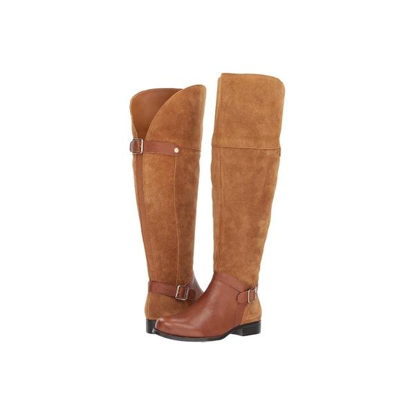 ナチュライザー レディース ブーツ&レインブーツ シューズ January WC Camel/Brown Suede/Tumbled Leather