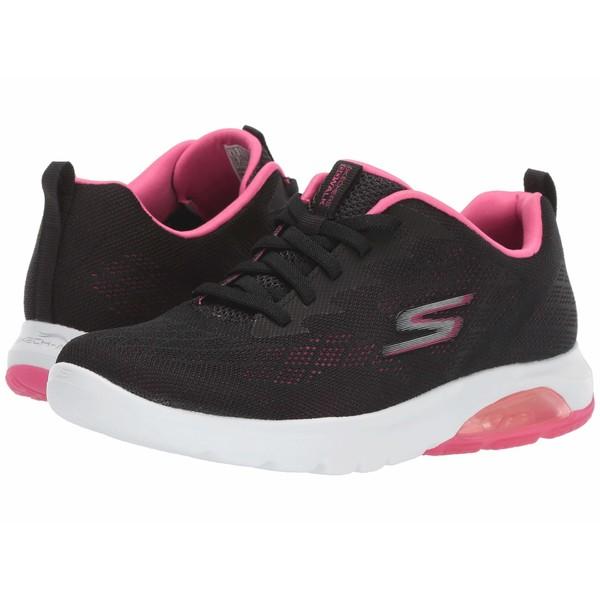 スケッチャーズ レディース スニーカー シューズ Go Walk Air - 16098 Black/Hot Pink