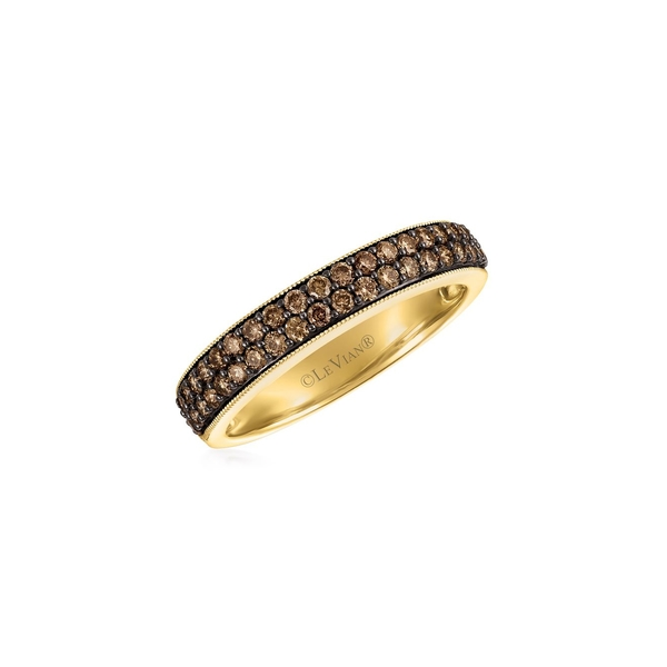 ルヴァン レディース リング アクセサリー Chocolatier 14K Honey Gold & Chocolate Diamond Pavé Ring Gold
