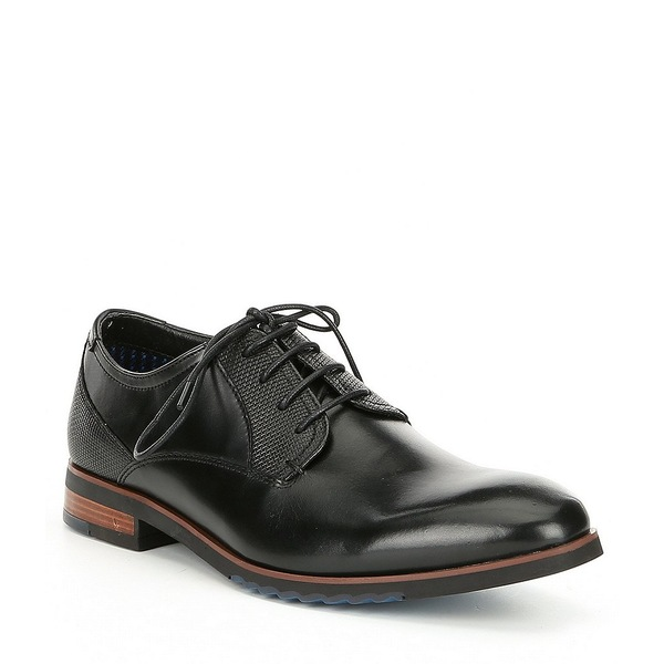スティーブ マデン メンズ Lawton マデン ドレスシューズ シューズ Men's Leather Lawton Black Black, ISM:6f1eba9d --- wap.assoalhopelvico.com