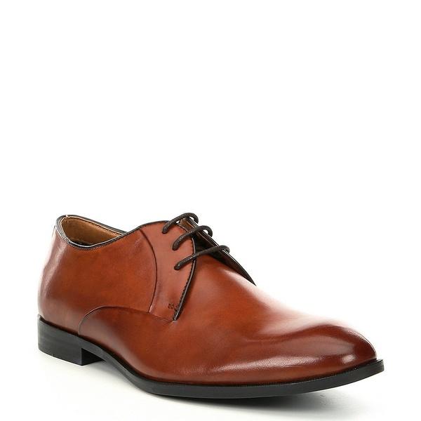 スティーブ マデン Plain メンズ ドレスシューズ シューズ Men's Easton Easton Leather Dress Dress Plain Toe Oxford Cognac, ニュールック:ede75617 --- wap.assoalhopelvico.com