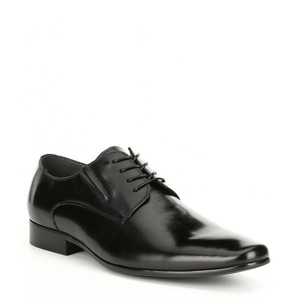 アルド メンズ ドレスシューズ シューズ Men's Trerassa Plain Toe Leather Oxford Black
