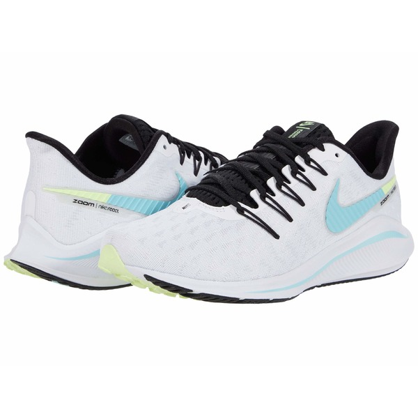 ナイキ レディース スニーカー シューズ Air Zoom Vomero 14 White/Glacier Ice/Black/Pure Platinum